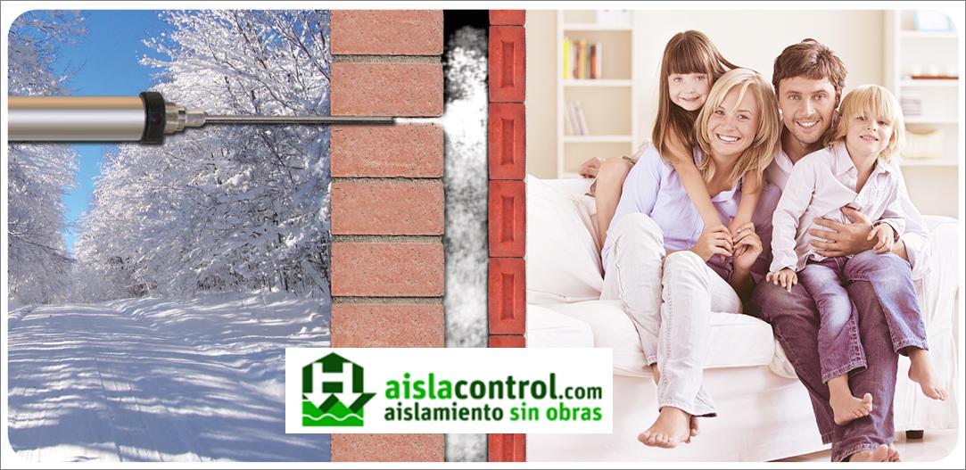 Aislacontrol aislamientos t rmicos y ac sticos - Aislamiento termico para casas ...