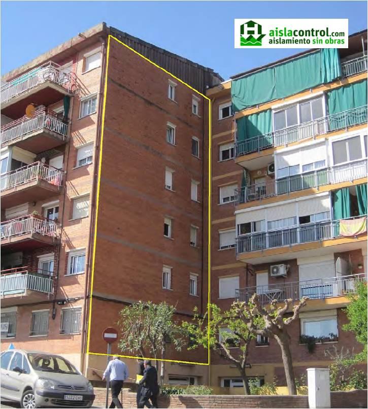 Aislacontrol aislamientos t rmicos y ac sticos for Aislamiento termico en fachadas por el interior